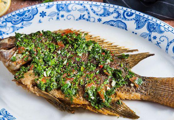 דג אמנון מטוגן